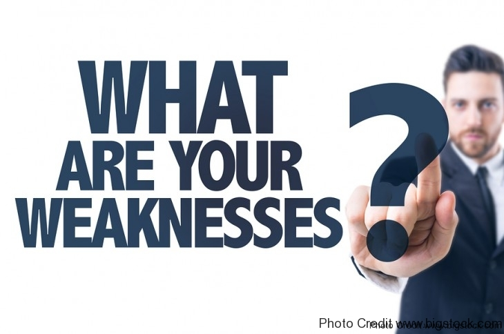 what are your weaknesses  best ways to answer