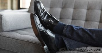job interview jeans