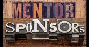 mentor versus sponsor
